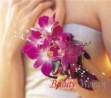 Аксессуары из цветов