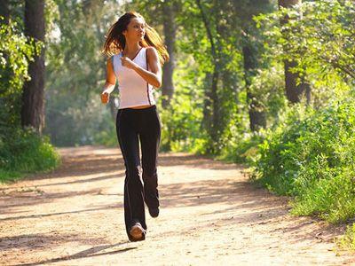 Бег утром - движение против лишних килограммов