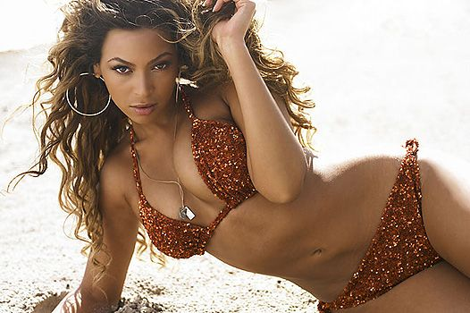 Бейонсе возглавила список лучших звездных тел на пляже