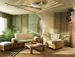 Цвет и дизайн гостиной по фен шуй