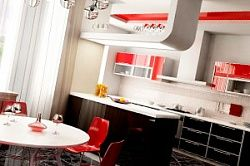 Цвет и расположение кухни по фен шуй, дизайн и интерьер