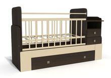 Детские кроватки трансформеры – комфорт и функциональность