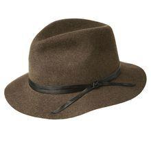 Фетровая шляпа - стильный женский аксессуар