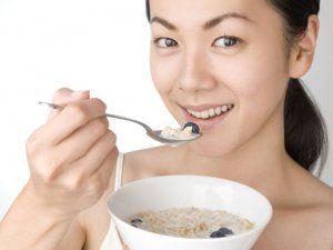 Главная составляющая диеты - это завтрак