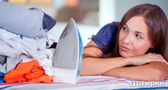 Как гладить футболки из разных типов ткани