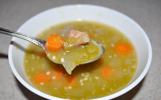 Как готовить гороховый суп: очень сытно