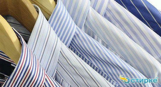 Как отутюжить рубашки с длинным рукавом из разных типов ткани