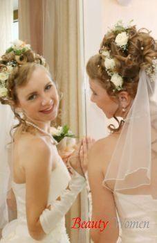В день свадьбы - Советы для свадебной прически