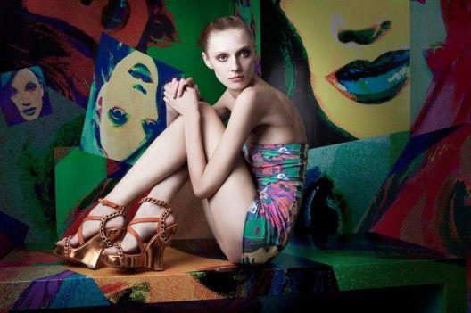 Красивая модная обувь лето, фото обзор