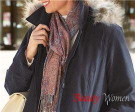 Легкие шарфы и платки. Как правильно подобрать шарф?