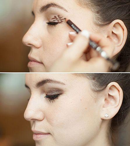 Макияж для близко посаженных глаз - пошаговая инструкция