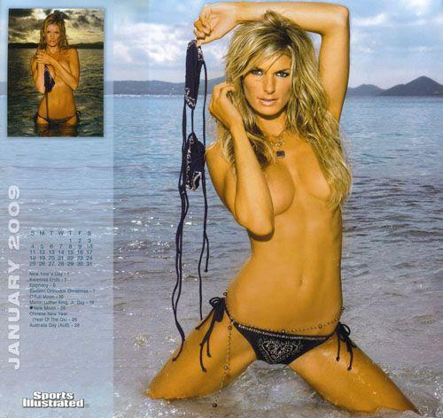 Мариса Миллер в новом календаре The Sports Illustrated