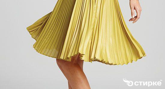 Модницам на заметку: как правильно гладить плиссе