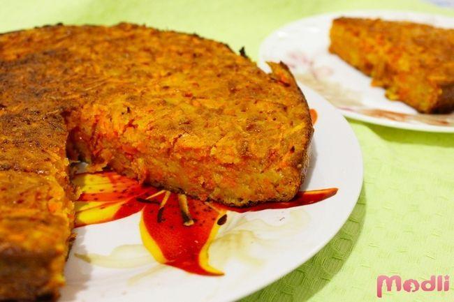 Морковная запеканка - рецепт