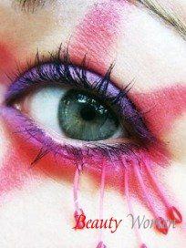 Основы макияжа глаз. Окрашивание ресниц. Наращенные ресницы. Средства для макияжа глаз: подводка, быстросохнущая тушь