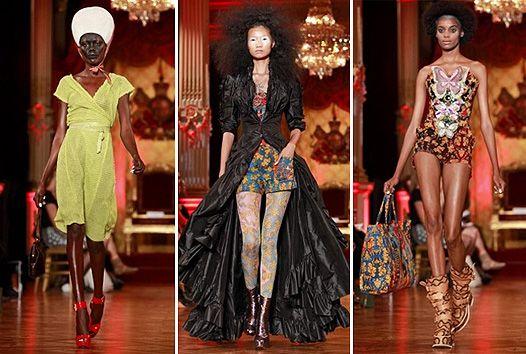 Парижская неделя моды: сказки народов мира Vivenne Westwood
