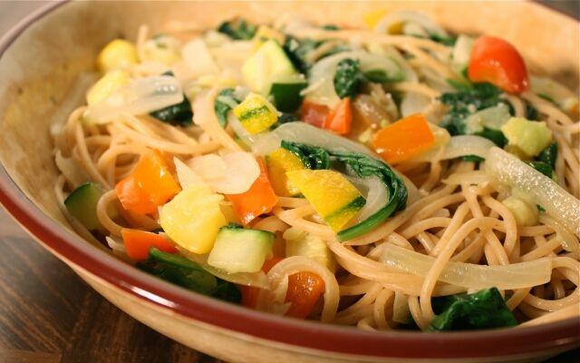 Приготовление пасты с овощами: легкая еда