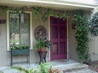 Размещение входных и внутренних дверей дома по фен -шуй