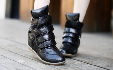Спортивная обувь на платформе - яркие тренды