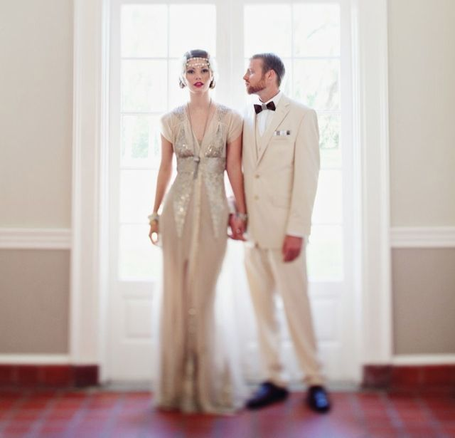 Стиль «Гетсби» - великолепное решение для свадьбы!