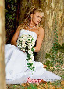 Традиционный свадебный наряд невесты. Русские свадебные традиции