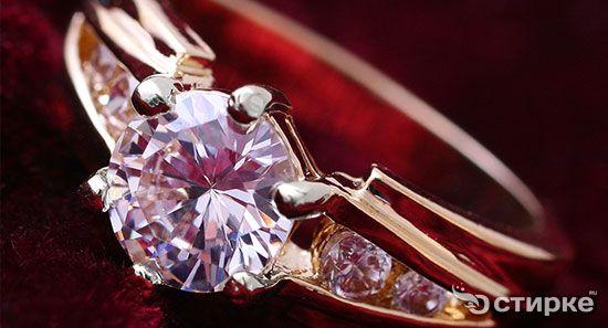 Возвращаем блеск украшениям с бриллиантами