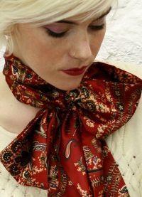 Выбираем женский шейный платок
