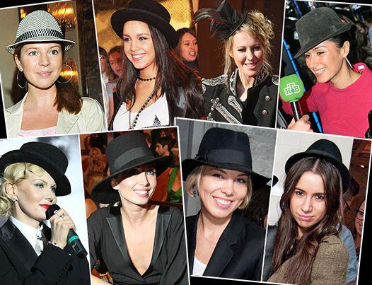 Женские шляпки - модный аксессуар